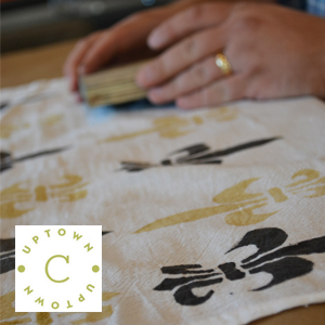 Fabric Printing // www.moderncraftcollective.com