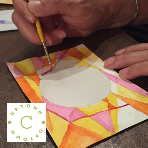 Abstract Watercolor Workshop // www.moderncraftcollective.com