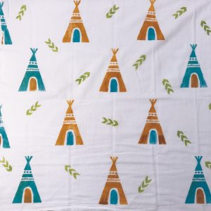 Tea Towel Fabric Printing // www.moderncraftcollective.com