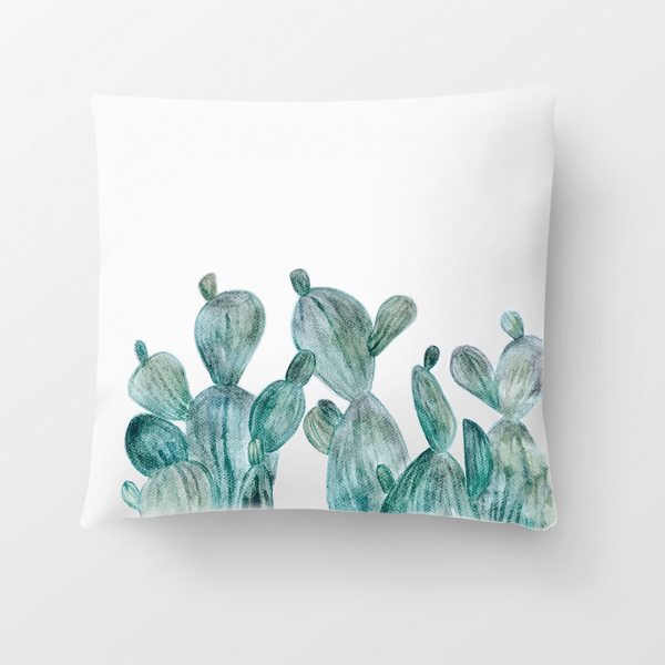 Hand Painted Pillow Cover // www.moderncraftcollective.com
