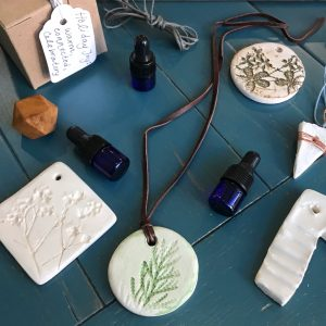 Ceramic Diffuser Jewelry with Modern Craft Collective and The Pure Roots