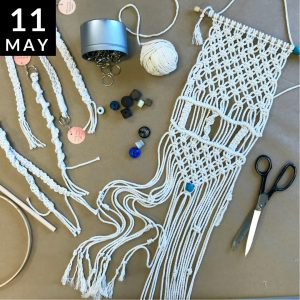 Macrame Wall Hanging // Modern Craft Collective